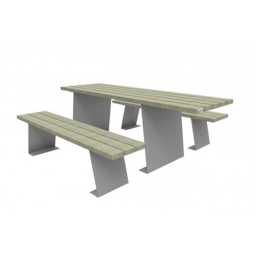 Table mobilier urbain espace public plastivert sarl for Mobilier urbain espace public