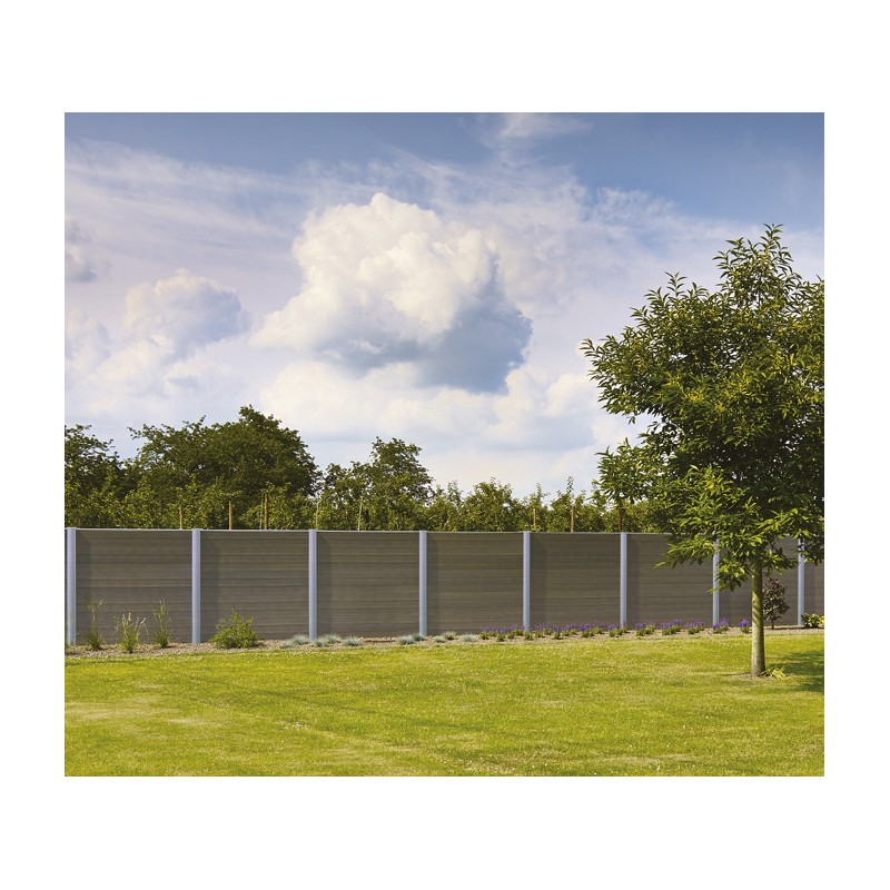 Clôture de jardin en plastique design Govawall