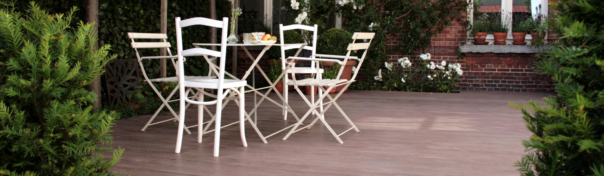 Planches de terrasse composite ou résine