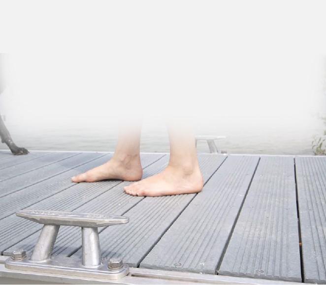Planches pour ponton et marina